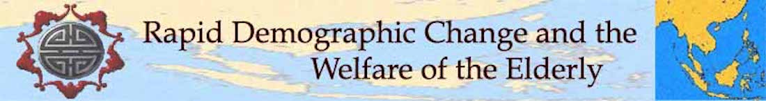 Rapid Demographic Change and the Welfare of the Elderly